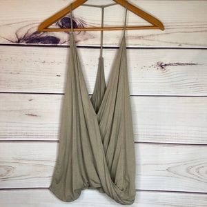 Drape Tank Top Silence + Noise Urban Outfitters
